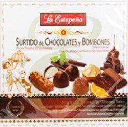 La Estepea Surtido de Chocolates y Bombones / Assorted Chocolates 310g 4 Pack