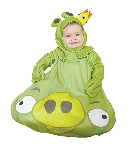 Toddler Angry Birds King Pig Kids Costumes (0-9 Months - Angry Birds King Pig Baby Costume 0-9 Months)