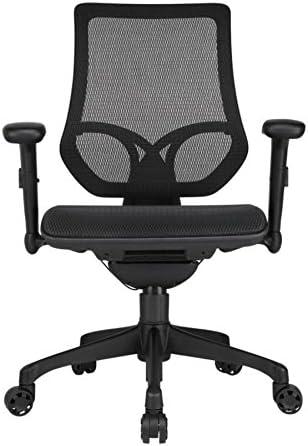Amazon Com Workpro Mid Back Mesh Task Chair Black Furniture Decor