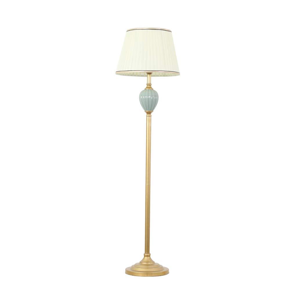 Amazon.com: GFC Floor Lamps Floor Lamp Iron Cloth Lampshade ...