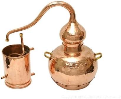 銅製蒸留器 アランビック 3.0L プレミアム溶接タイプ