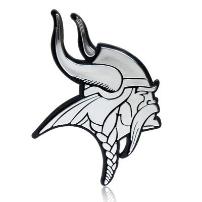 NFL Minnesota Vikings 3D Chrome Car Emblem