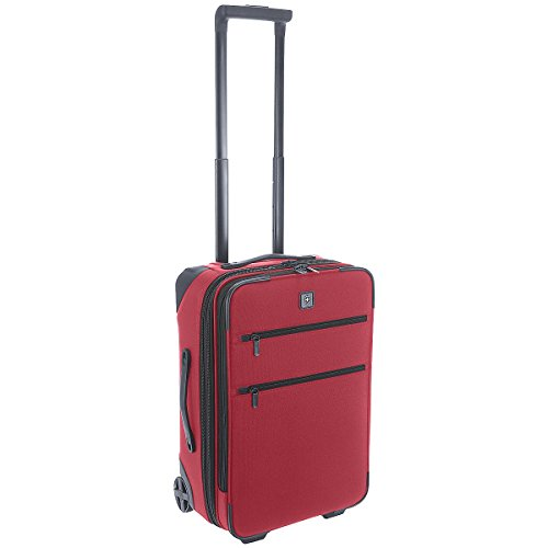 """Lexicon 20"""" Suitcase Color: Red"""