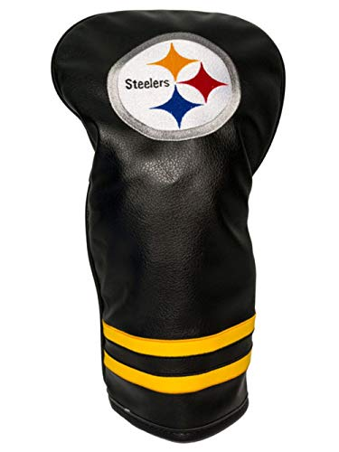 (Team Golf NFL Pittsburgh Steelers Vintage Driver Golf Club Headcover, Form Fitting Design, Retro Design & Superb Embroidery)