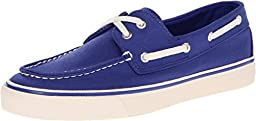 Sperry Top-Sider Womens Biscayne Cobalt Canvas Boat Shoe 8.5 M (B)