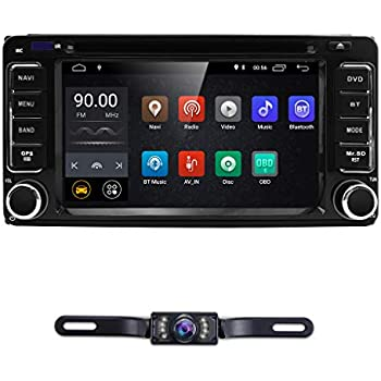 Double 2 Din Android 8.1 Car DVD Player for Toyota Corolla Camry RAV4 Tundra Hilux VIOS VITZ 4RUNNER Prado Sequoia Quad Core WiFi Bluetooth Radio GPS ...
