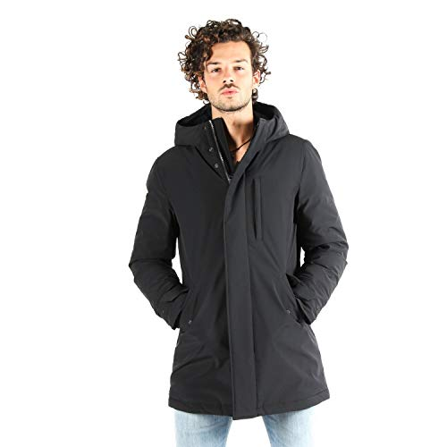 Woolrich Parka Stretc Military Military Woolrich Stretc Nero Nero Woolrich Parka vxf6A