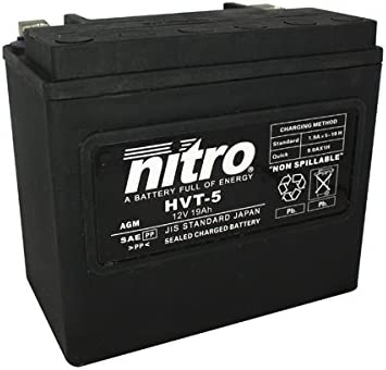 Nitro HVT 05/ /N Batteries Black Price Includes EUR 7,50/Deposit