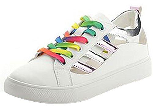 Laruise Tops Silber Sneaker Damen Low w0Swqt4r