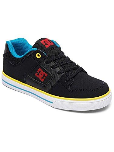 DC Shoes Pure Elastic, Zapatillas Para Niños Black/Multi