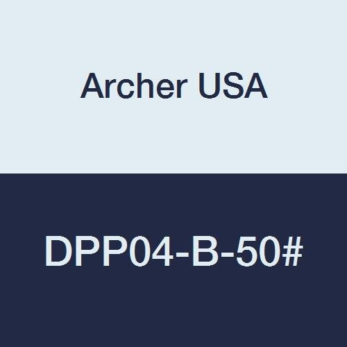 Archer USA 4 in. #50 Grit Dry Diamond Polishing Pad for Stone