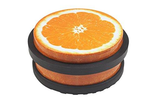 Meister Butoir de porte Ø 90mm, orange, 431720