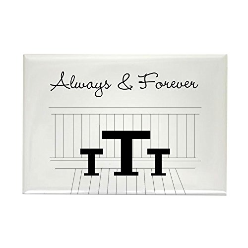 (CafePress Naley - Always Forever Rectangle Magnet Rectangle Magnet, 2