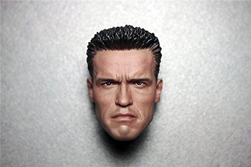 Camo Face Action Figure Head Sculpt 1/6 Scale Europe Male Head Carving