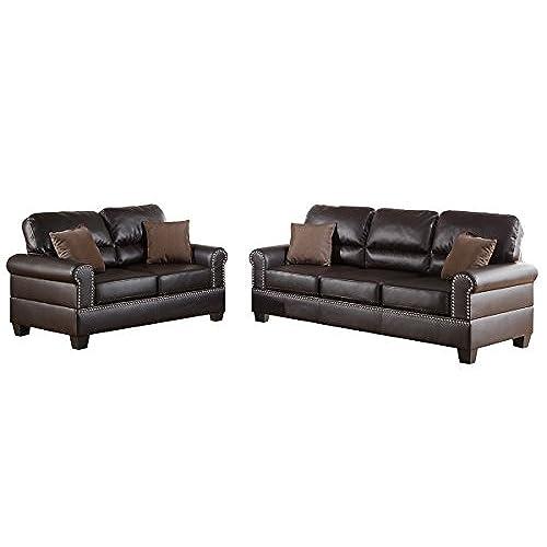 2 Piece Living Room Set: Amazon.com