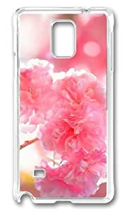 Adorable double cherry blossoms Hard Case Protective Shell Cell Phone Ipod Touch 5 - PC Transparent