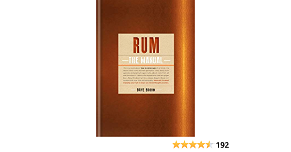 Rum The Manual (English Edition)