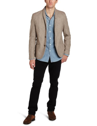 Cohesive & Co. Men's Bourbon Blazer, Cream, Large