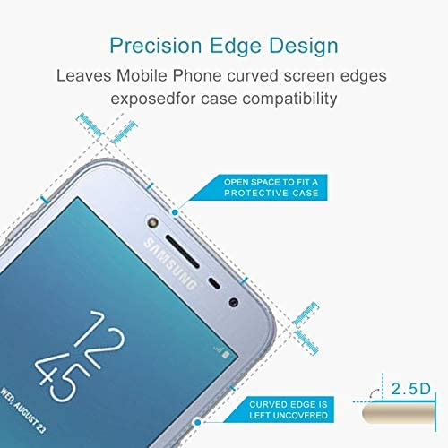 0.26mm 9H Surface Hardness 2.5D Explosion-Proof Tempered Glass Screen Film Screen Tempered Glass Film CHENNAN 100 PCS for Galaxy J2 Pro 2018