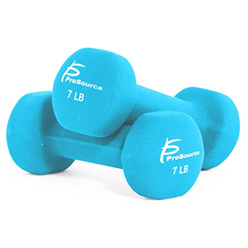 ProSource Neoprene Dumbbells Coated Non Slip