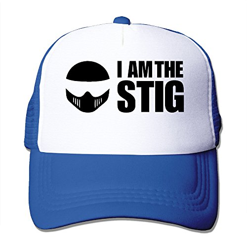 The Stig Costume For Adults (ACMIRAN I AM Stig Personalize Sunhats One Size RoyalBlue)