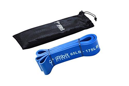 iribit Fitness bandas de dominadas, Powerlifting bandas, bandas de resistencia, Bandas de elástico para Crossfit, Blue...