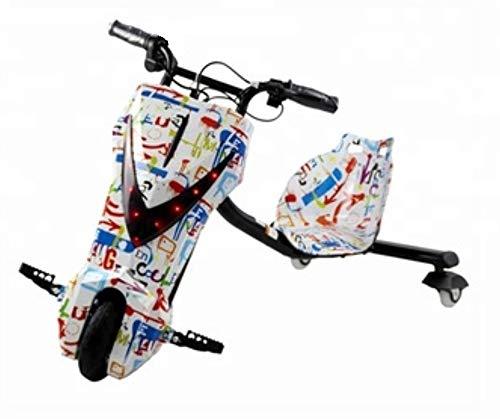 Koastal Scooter Drift ELÉCTRICO Triciclo 360º Boogie - GRAFITY - MAX. 15KM/H Envio 48 Horas: Amazon.es: Deportes y aire libre