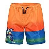 Pug Love 3D Printing Men's Swim Trunks Quick Dry Beach Shorts Five Pants