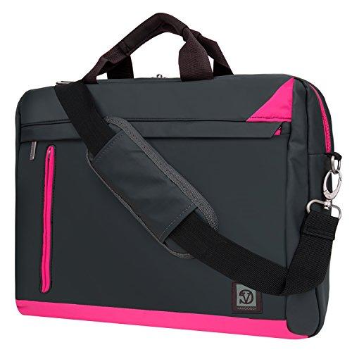 "Price comparison product image Magenta Laptop Bag Mesenger Case for Toshiba 15.6"" 15.4"" 14"" Satellite / Tecra / Satellite Radius / C Series / L Series / S Series / A Series / Fusion"