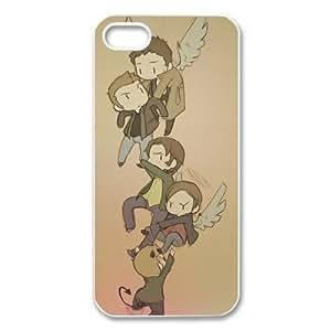 Cartoon Supernatural iphone 5 Case Hard Protective iPhone 5 Case