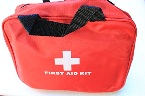 Best First Aid Kit – LIMITED RUN EDITION – No Logo printed on this bag so you benefit with this huge sale!