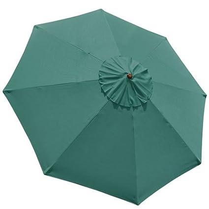 Amazon.com: 10 ft 8 costillas paraguas Cover Canopy Mercado ...
