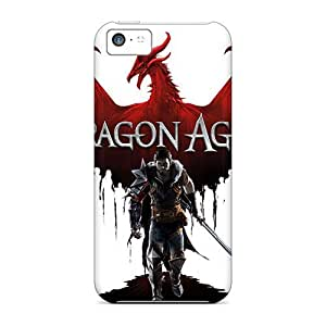 Sanp On Case Cover Protector For Iphone 5c (dragon Age Ii Game)