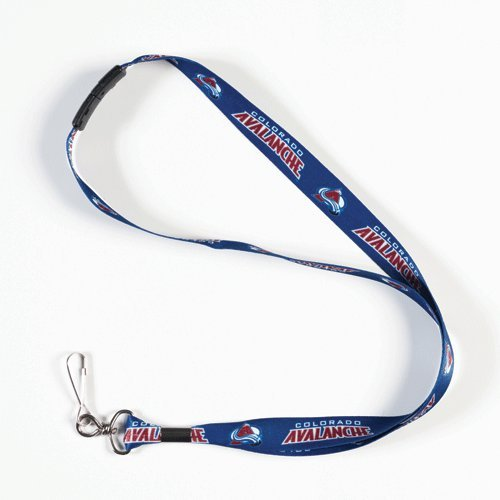 WinCraft NHL Colorado Avalanche Lanyard with Breakaway, 3/4