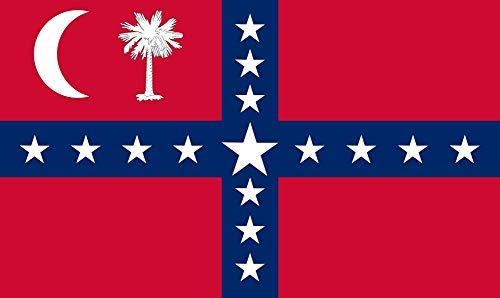 - Historical South Carolina Sovereignty 3X5 Flag Banner Super 210 Denier Polyster
