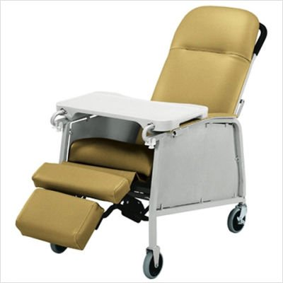 Lumex Three-Position Clinical Care Recliner, Blue Ridge, -