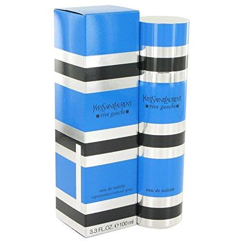 - RIVE GAUCHE by Yves Saint Laurent Eau De Toilette Spray 3.3 oz for Women - 100% Authentic