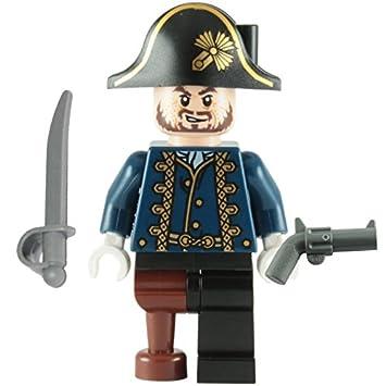 Lego Fluch Der Karibik Minifigur Hector Barbossa Holzbein Mit