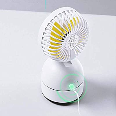 Color : A Spray Fan USB Small Fan Home Portable Rechargeable Fan Spray Humidification Refrigeration Gift Fan