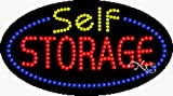 15x27x1 inches Self Storage Animated Flashing LED Window Sign