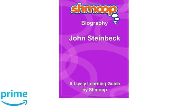 John Steinbeck: Shmoop Biography