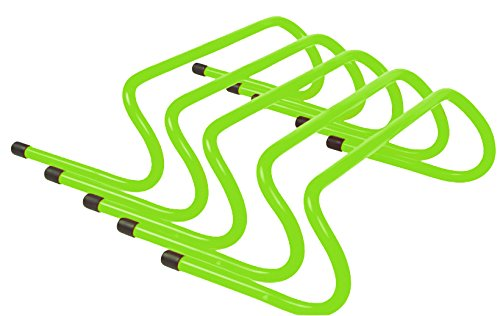 (Trademark Innovations Speed Training Hurdle Set (5 Pack), 6