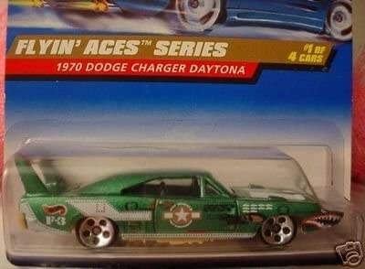 amazon com hot wheels mattel 1998 1 64 scale flyin aces series green 1970 dodge charger daytona die cast car 1 4 toys games hot wheels mattel 1998 1 64 scale flyin aces series green 1970 dodge charger daytona die cast car 1 4
