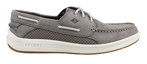 (Sperry Top-Sider Men's Gamefish 3-Eye Boat Shoe, Grey, 10.5 M US)