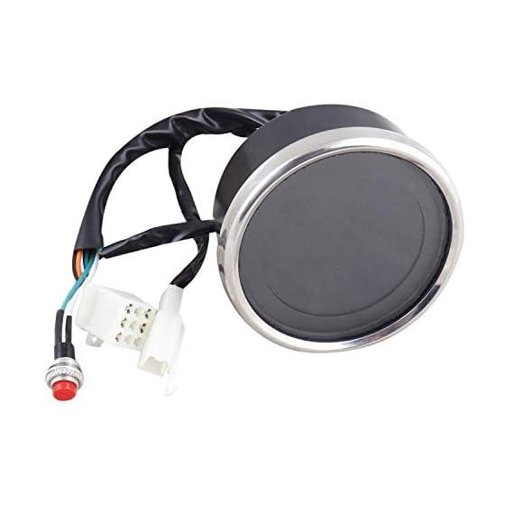 Love Enterprisess presents AutoPowerz Digital Speedometer 7 Multicolor LCD Screen, Oil Gauge 12V Digital Speedometer