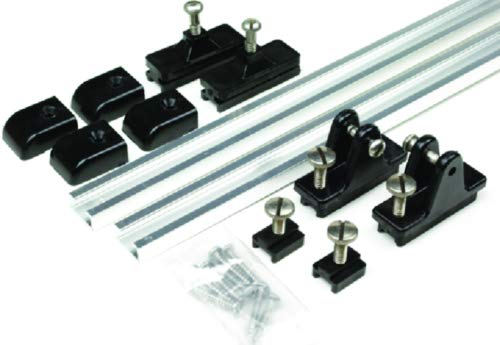 New Bimini Top Slide Track Kit carver Covers 62000 Length 24