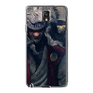 Excellent Design Jiraya Master Naruto Phone Case For Galaxy Note3 Premium Tpu Case