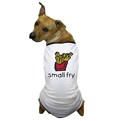 French Fry Costume For Dog (CafePress - small fry Dog T-Shirt - Dog T-Shirt, Pet Clothing, Funny Dog Costume)