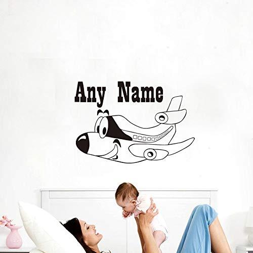 Geiqianjiumai Pegatinas de Pared Nombre Personalizado ...