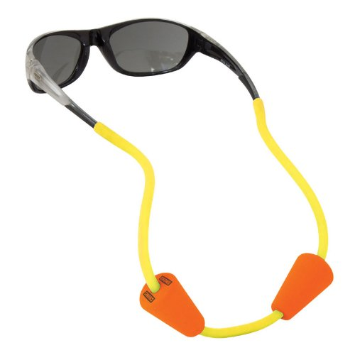 Chums Floating Halfpipe Eyewear Retainer, Yellow, One Size